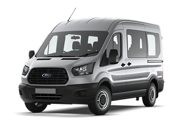 Ford Transit Shuttle Bus 17+0+1